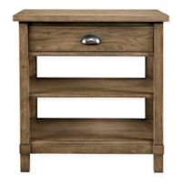 Stone & Leigh by Stanley Furniture Driftwood Park Night Stand in Sunflower Seed