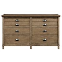 Stone & Leigh by Stanley Furniture Driftwood Park 6-Drawer Dresser in Sunflower Seed