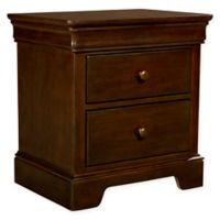Stone & Leigh by Stanley Furniture Teaberry Lane Nightstand in Midnight Cherry