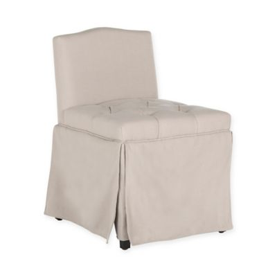 Safavieh Betsy Vanity Chair In Taupe