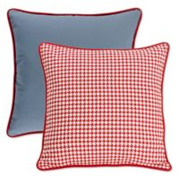 HiEnd Accents St. Clair European Pillow Sham in Blue/Red/White