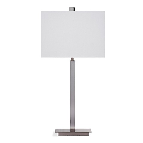 image of Bassett Mirror Company Alexa Table Lamp in Chrome
