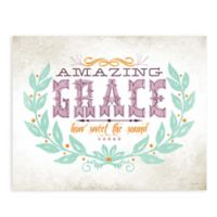 "GreenBox Art Murals That Stick ""Amazing Grace"" 24-Inch by 18-Inch Wall Art"