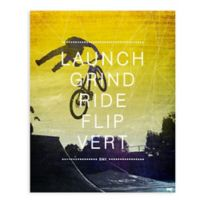 """GreenBox Art Murals That Stick """"BMX Action"""" 18-Inch x 24-Inch Wall Art"""