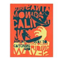 """GreenBox Art Murals That Stick """"Catching a Wave"""" 28-Inch x 35-Inch Wall Art"""