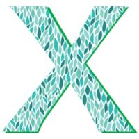 "GreenBox Art Murals That Stick ""Chi"" 27-Inch x 27-Inch Wall Art"