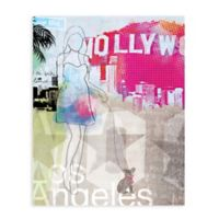 "GreenBox Art Murals That Stick ""City Girl - Los Angeles"" 18-Inch x 24-Inch Wall Art"