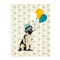 """GreenBox Art Murals That Stick """"Float Me Away"""" 18-Inch x 24-Inch Wall Art"""