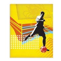 """GreenBox Art Murals That Stick """"Footballer"""" 28-Inch x 35-Inch Wall Art"""