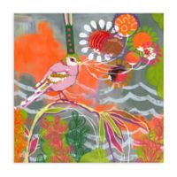 """GreenBox Art Murals That Stick """"Give to the World"""" 18-Inch x 18-Inch Wall Art"""