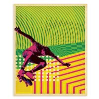 "GreenBox Art Murals That Stick ""High Voltage Skate"" 18-Inch x 24-Inch Wall Art"
