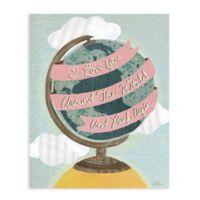"GreenBox Art Murals That Stick ""I Love You Around the World"" 28-Inch x 35-Inch Wall Art"