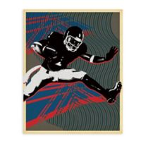 "GreenBox Art Murals That Stick ""In the Zone"" 28-Inch x 35-Inch Wall Art"