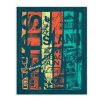 """GreenBox Art Murals That Stick """"Island Sun"""" 28-Inch x 35-Inch Wall Art"""