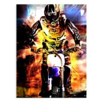 "GreenBox Art Murals That Stick ""Moto Dream"" 18-Inch x 24-Inch Wall Art"