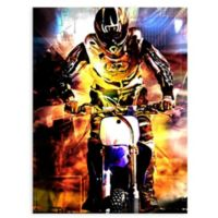 "GreenBox Art Murals That Stick ""Moto Dream"" 28-Inch x 35-Inch Wall Art"