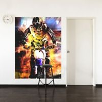 "GreenBox Art Murals That Stick ""Moto Dream"" 54-Inch x 72-Inch Wall Art"