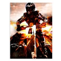 "GreenBox Art Murals That Stick ""Moto X"" 28-Inch x 35-Inch Wall Art"
