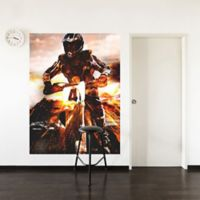 "GreenBox Art Murals That Stick ""Moto X"" 54-Inch x 72-Inch Wall Art"