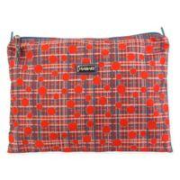Hadaki Small Nylon Zip Carry All Pod in Red