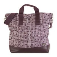 Hadaki® French Market Tote in Plum Plaid