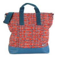 Hadaki® French Market Tote in Red Plaid