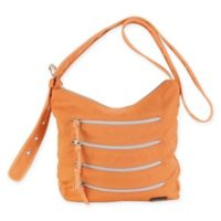 Hadaki Nylon Millipede Tote in Melon