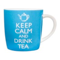 """Keep Calm and Drink Tea"" Ceramic Mug"