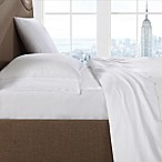 Brooklyn Loom 300-Thread-Count Yarn Dyed Queen Sheet Set in White