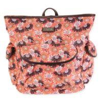 Hadaki City Backpack in Daisies