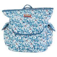 Hadaki City Backpack in Berry Blossom