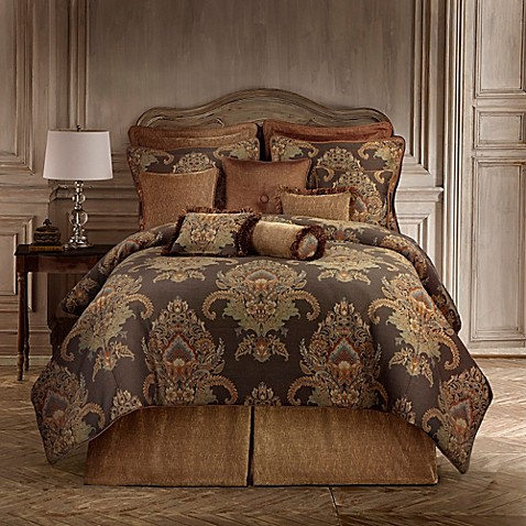 Rose Tree Bayonne Comforter Set In Brown Bed Bath Beyond