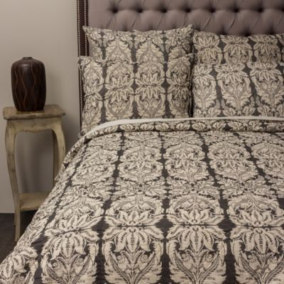 amity home brayson king quilt in grey