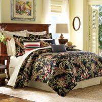 Tommy Bahama® Jungle Drive Queen Comforter Set in Black