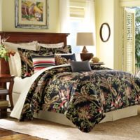 Tommy Bahama® Jungle Drive California King Comforter Set in Black