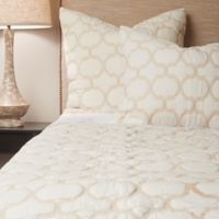 Amity Home Contemporary Jaimy Twin Quilt in Ivory
