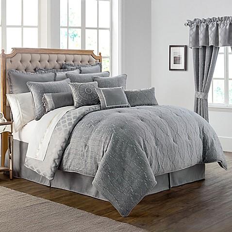 Buy Waterford 174 Linens Carlisle King Comforter Set In