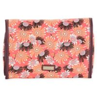 Hadaki® Leather Toiletry Pod Roll-Up in Daisies
