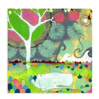 GreenBox Art 18-Inch x 18-Inch Worlds Collide Posters That Stick Wall Decal