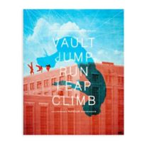 GreenBox Art 18-Inch x 24-Inch Parkour Posters That Stick Wall Decal