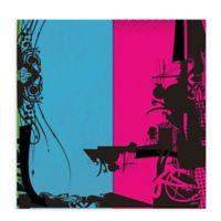GreenBox Art Transmission Part 1 18-Inch x 18-Inch Wheatpaste Wall Art