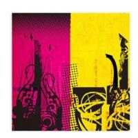 GreenBox Art Transmission Part 2 18-Inch x 18-Inch Wheatpaste Wall Art