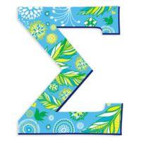 GreenBox Art 27-Inch Greek Letter Sigma Wall Decal