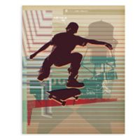 GreenBox Art 18-Inch x 24-Inch Skate Heist Posters That Stick Wall Decal