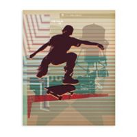 GreenBox Art 28-Inch x 35-Inch Skate Heist Posters That Stick Wall Decal