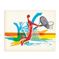 GreenBox Art 28-Inch x 35-Inch Slam Jam Posters That Stick Wall Decal