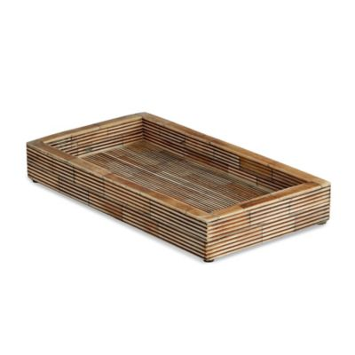bali tray by kassatex - Bathroom Tray