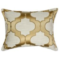 Sherry Kline Hutton Rectangle Throw Pillow in Gold