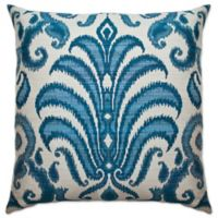 Sherry Kline Rustica Square Throw Pillow in Blue