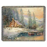 Christmas Retreat Throw Blanket